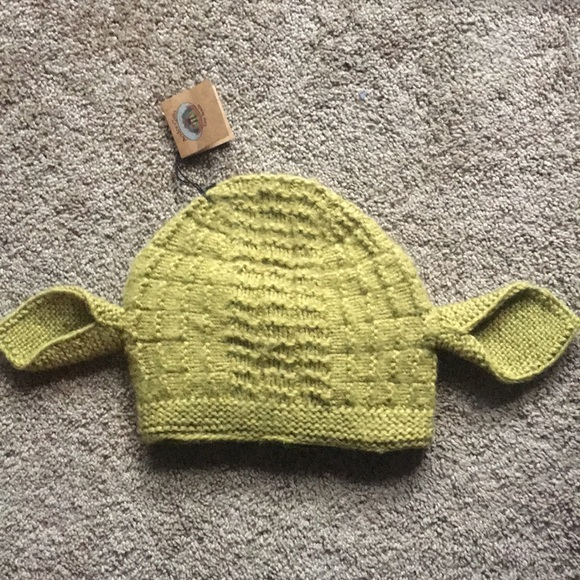 Andes Gifts Accessories | Nwt Shrekyoda Knit Hat Beanie | Poshmark
